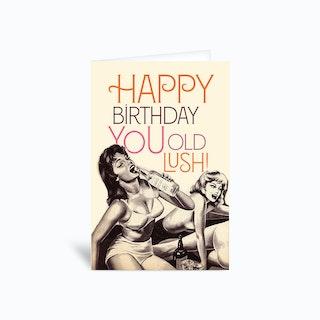 Lush Greetings Card