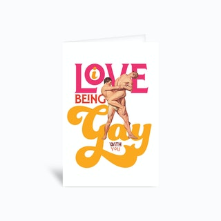 Love Gay Greetings Card