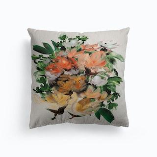 Magnolia Canvas Cushion