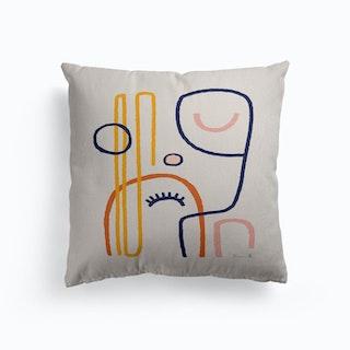 Feel Good 2 Canvas Cushion