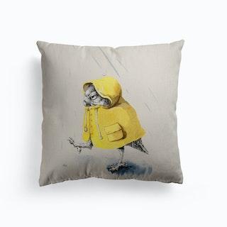 Rainy Day Canvas Cushion
