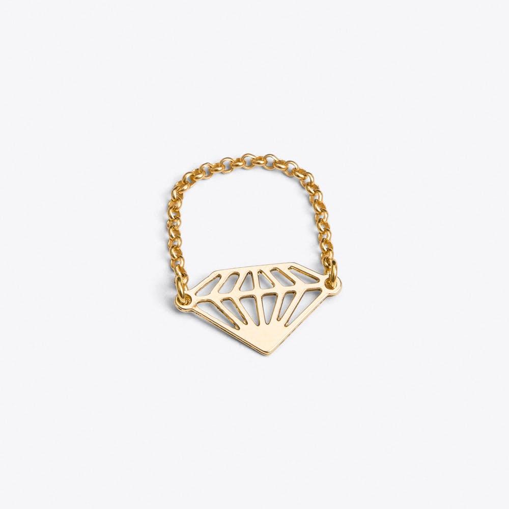 Diamond Ring in Gold