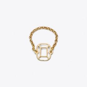 Cushion Ring in Gold