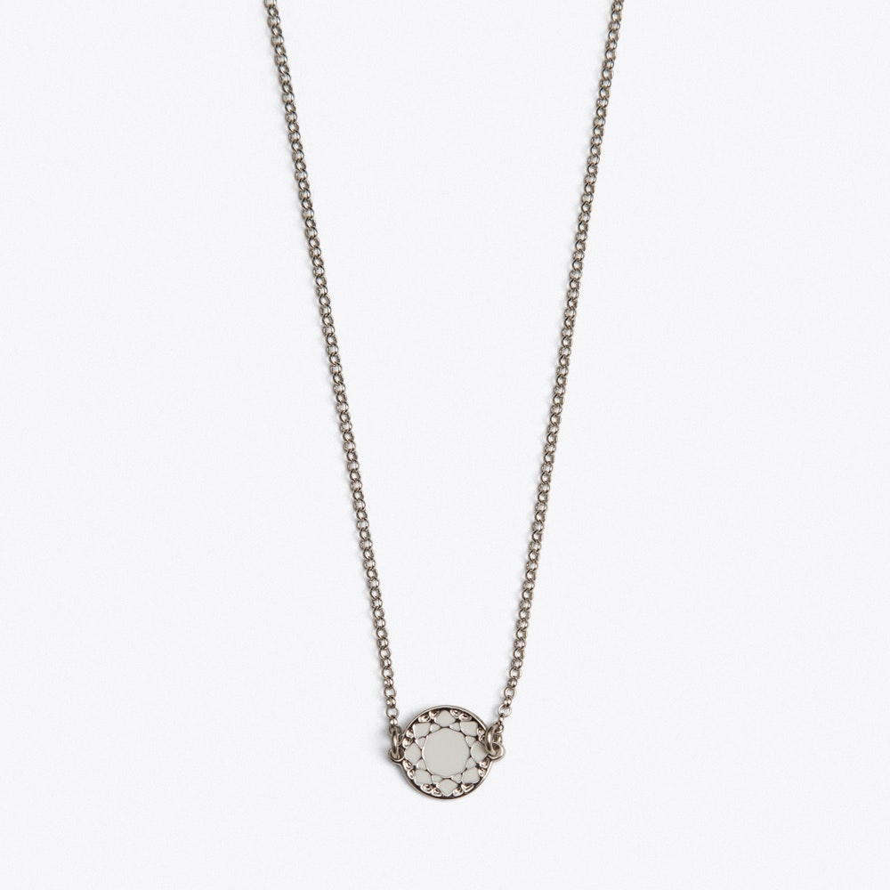 index cut brilliant necklace diamond