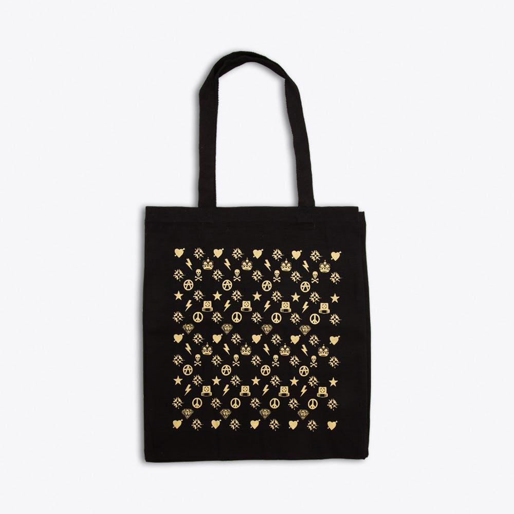 LVMMXV Gold & Black Tote Bag