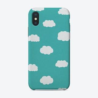 Cartoon Clouds Phone Case