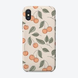 Cherry Seamless Pattern Phone Case