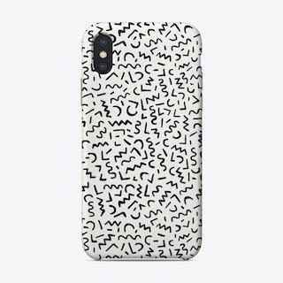 Hand Drawn Pattern Phone Case