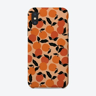 Seamless Citrus Pattern Oranges Phone Case