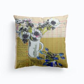 Anemone On Ledger Cushion
