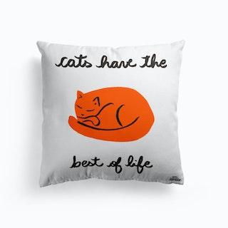 Cats Life Cushion