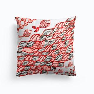Coral Fish Cushion