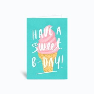 Sweet Birthday Greetings Card