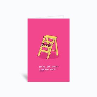 Coolest Stepmum Greetings Card
