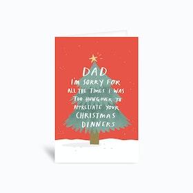 Sorry Dad Greetings Card