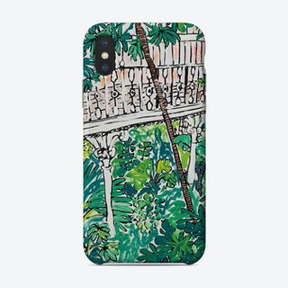Kew Gardens Sunrise Jungle Painting Phone Case