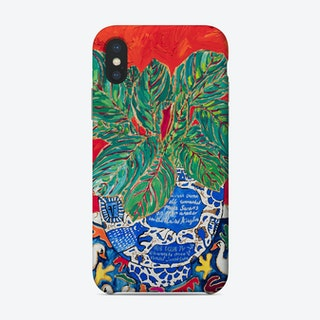 Completely True Facts About Swans Indoor Plant Phone Case