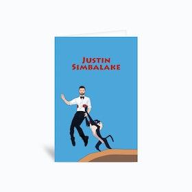 Justin Simbalake Greetings Card