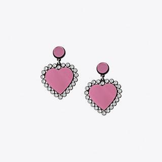 Baby be mine Earrings in Pink