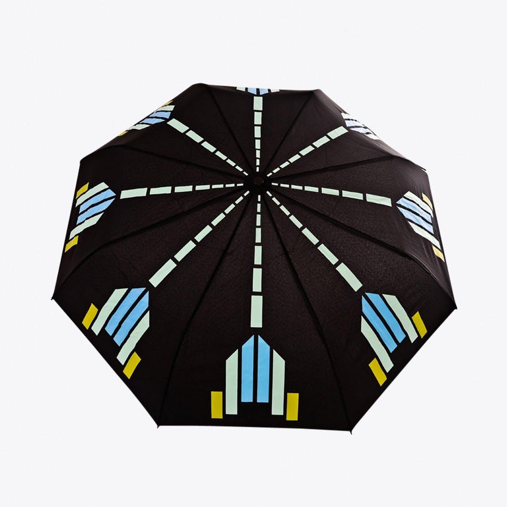 Bijoux Umbrella in Turquoise & Lime