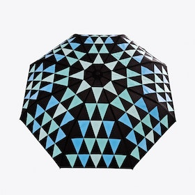 Pyramid Umbrella in Blue