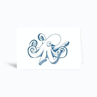 Optopus Greetings Card