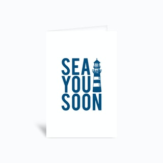 Sea You Soon Greetings Card