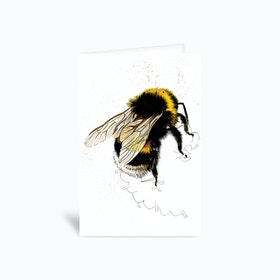 The Bee Greetings Card