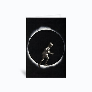 Eclipse Greetings Card