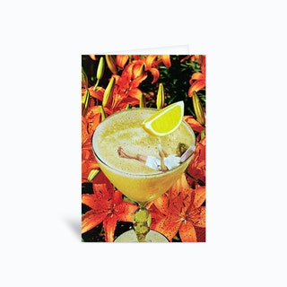 Daiquiri Greetings Card