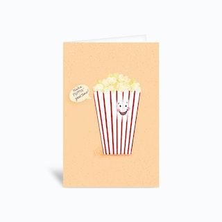 Poppin Good Time Birthday Pun Greetings Card
