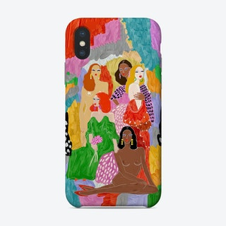 Female World Phone Case