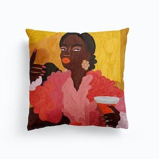 Fatou Canvas Cushion