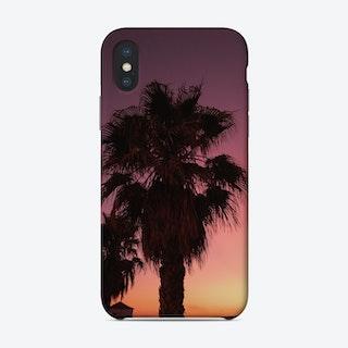 Palms At Dawn Phone Case