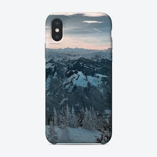 Skiers Paradise Phone Case