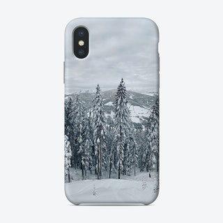 Snow Forest Phone Case