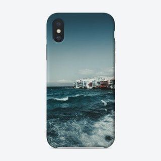 Mykonos Sea Phone Case