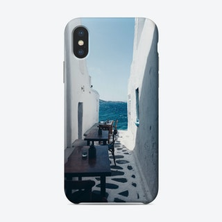 Small Streets Of Mykonos Phone Case