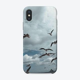 Sea Side Gulls Phone Case