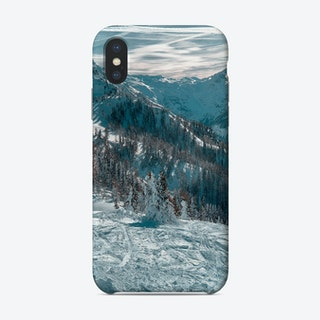 On Top Of The Mountain Ii Phone Case