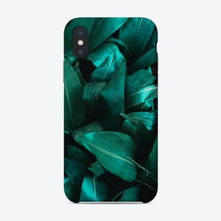 Green Plant Structure Phone Case