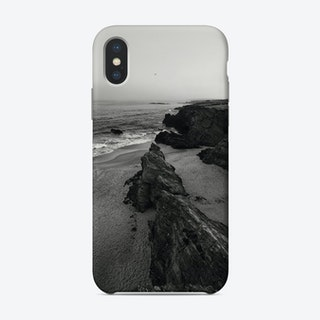 Black And White Beach Phone Case