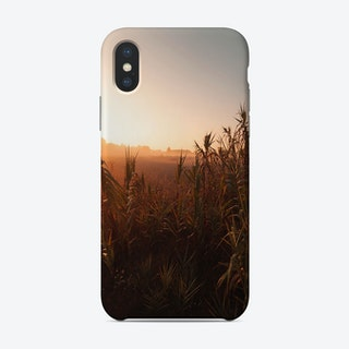 Grass In The Morning Phone Case