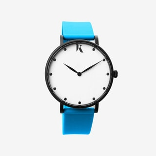 Neon Blue - 38mm Watch