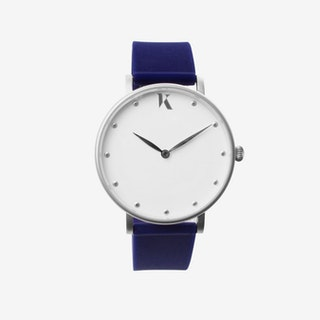 Sapphire Blue+Silver - 38mm Watch