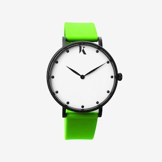 Neon Green - 38mm Watch