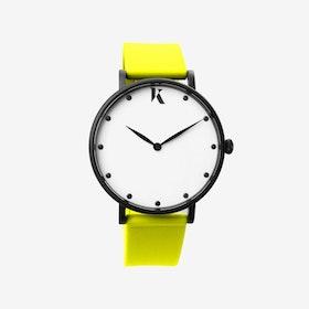 Neon Yellow - 38mm Watch