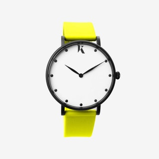 Neon Yellow - 38mm Watch