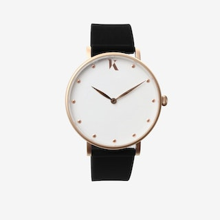 Jet Black+Gold - 38mm Watch