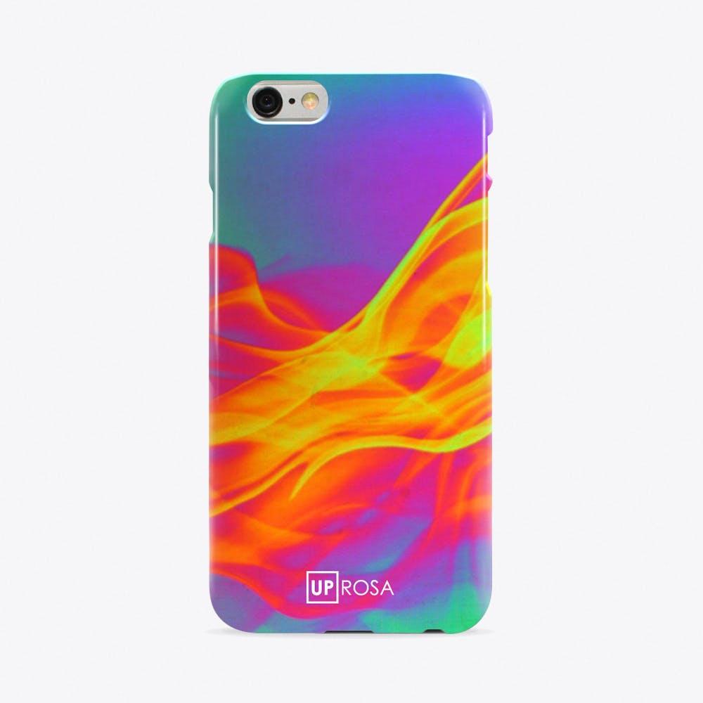 Birefringence Flame Phone Case